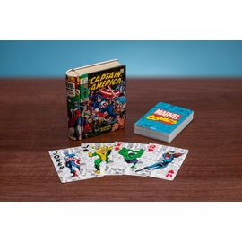CARTAS MARVEL COMIC BOOK