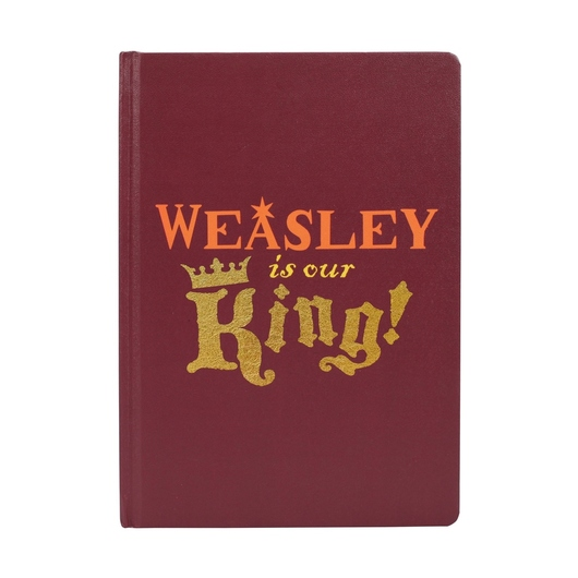 CUADERNO A5 HARRY POTTER RON WESLEY