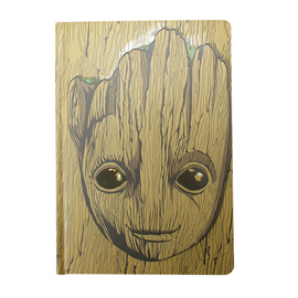 CUADERNO A5 MARVEL GOTG GROOT