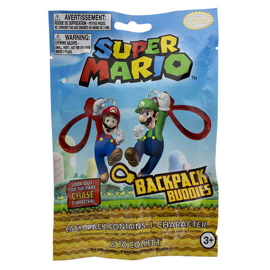 BACKPACK BUDDIES SUPER MARIO SERIES 2 SURTIDO