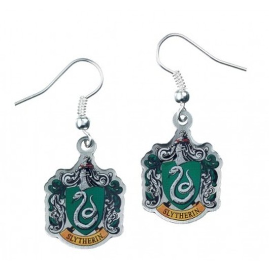 PENDIENTES HARRY POTTER SLYTHERIN