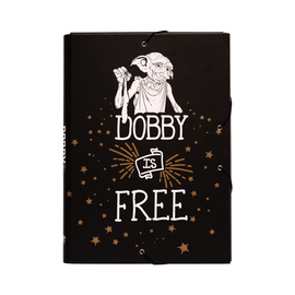 CARPETA SOLAPAS HARRY POTTER DOBBY