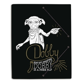 CARPETA GOMAS A4 POLIPROPILENO HARRY POTTER DOBBY
