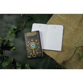 CUADERNO THE LEGEND OF ZELDA SHEIKAH SLATE