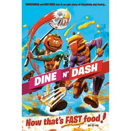 POSTER FORTNITE DINE AND CASH