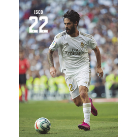 POSTAL REAL MADRID 2019/2020 ISCO ACCION