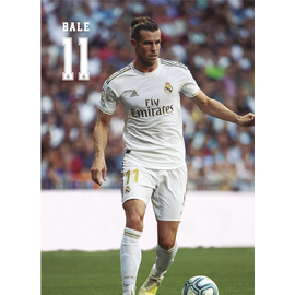 POSTAL REAL MADRID 2019/2020 BALE ACCION
