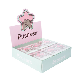 CAJA READY TO SELL 12 GOMAS PUSHEEN STAR
