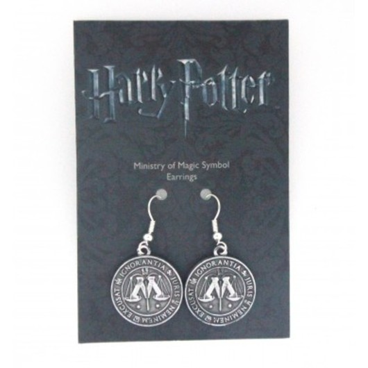 PENDIENTES HARRY POTTER MINSTRY OF MAGIC