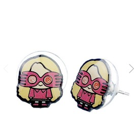 PENDIENTES HARRY POTTER LUNA CHIBI