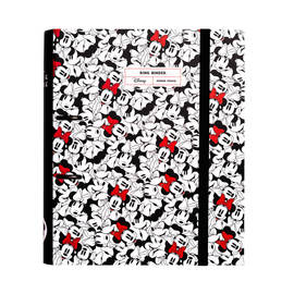 CARPETA 2 ANILLAS TROQUELADA PREMIUM MINNIE MOUSE ROCKS THE DOTS
