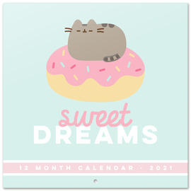 CALENDARIO 2021 30X30 PUSHEEN FOODIE COLLECTION