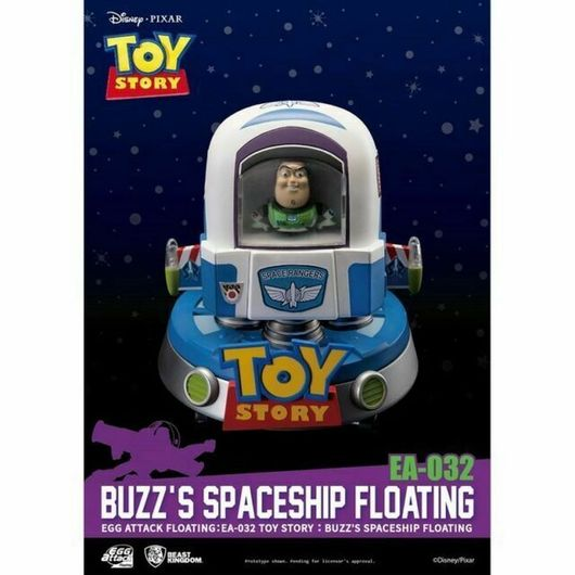 FIGURA DISNEY TOY STORY BUZZ'S SPACESHIP FLOATING VERSION
