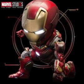 FIGURA MARVEL 10TH ANNIVERSARY IRONMAN MK 43 BATTLE DAMAGED