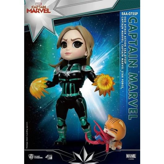 FIGURA MARVEL CAPITAN MARVEL CAROL DANVERS STAR FORCE