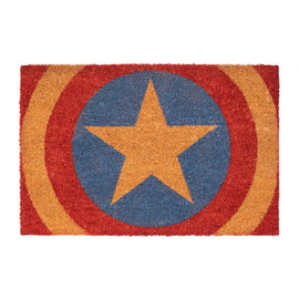 FELPUDO MARVEL CAPITAN AMERICA SHIELD