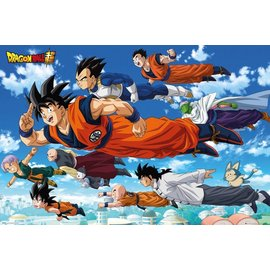 POSTER DRAGON BALL SUPER FLYING