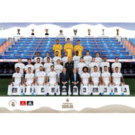 POSTER REAL MADRID 2019/2020 PLANTILLA