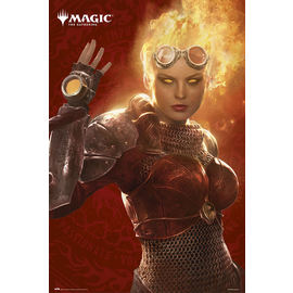 POSTER MAGIC THE GATHERING CHANDRA