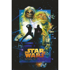 POSTER STAR WARS THE RETURN OF THE JEDI SPECIAL EDITION
