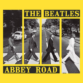 PRINT 30X30 CM ABBEY ROAD CROSSWALK