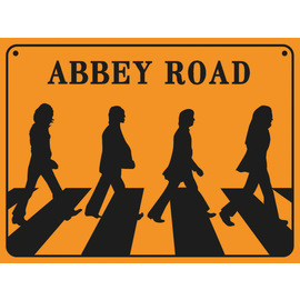 PRINT 30X40 CM ABBEY ROAD SIGN