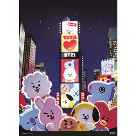 PRINT 30X40 CM BT21 TIME SQUARE