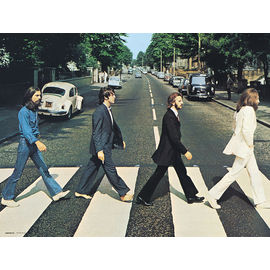 PRINT 30X40 CM THE BEATLES - ABBEY ROAD