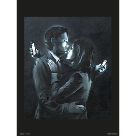 PRINT 30X40 CM BRANDALISED MOBILE PHONE LOVERS CLOSE
