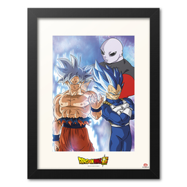 PRINT ENMARCADO 30X40 CM DRAGON BALL SUPER JIREN