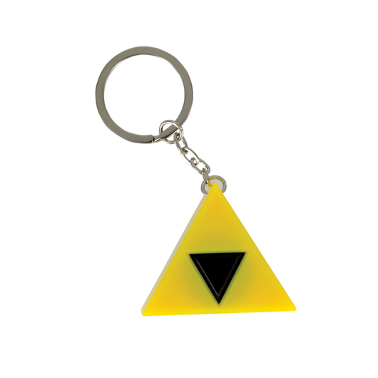 LLAVERO CON LUZ THE LEGEND OF ZELDA TRI FORCE
