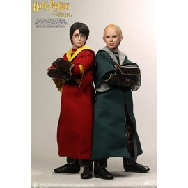 FIGURA HARRY POTTER HARRY POTTER Y DRACO MALFOY QUIDDITCH