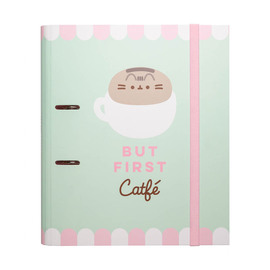 CARPETA 2 ANILLAS TROQUELADA PREMIUM PUSHEEN FOODIE COLLECTION