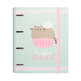 CARPETA 4 ANILLAS TROQUELADA PREMIUM PUSHEEN FOODIE COLLECTION