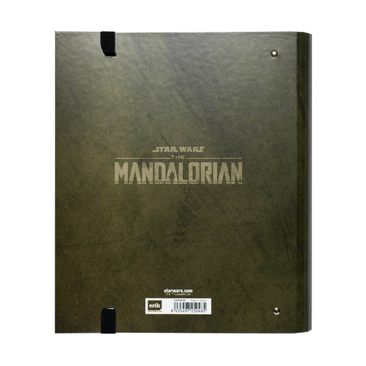 CARPETA 4 ANILLAS TROQUELADA STAR WARS THE MANDALORIAN-THE CHILD