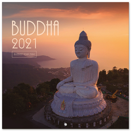 CALENDARIO 2021 30X30 THE BUDDHA