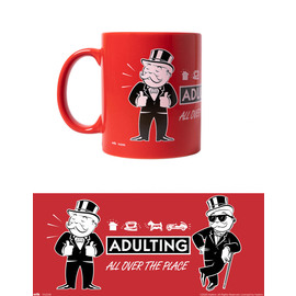 TAZA MONOPOLY MAGNIFICENT