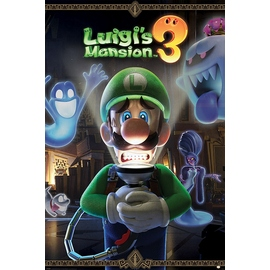 POSTER NINTENDO LUIGIS MANSION YOU ARE IN FOR A FRIGHT