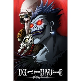 POSTER DEATH NOTE SHINIGAMI