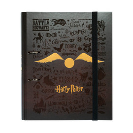 CARPETA 2 ANILLAS TROQUELADA PREMIUM HARRY POTTER