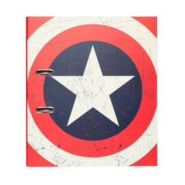 ARCHIVADOR CON COMPRESOR MARVEL CAPTAIN AMERICA SHIELD