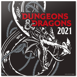 CALENDARIO 2021 30X30 DUNGEONS 6 DRAGONS
