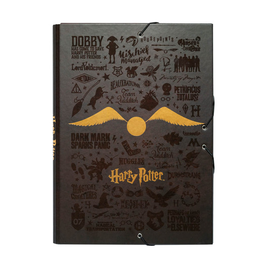 CARPETA SOLAPAS HARRY POTTER