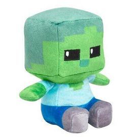 PELUCHE MINECRAFT MINI CRAFTER ZOMBIE