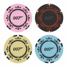 POSAVASOS JAMES BOND CASINO ROYALE FICHA DE POKER