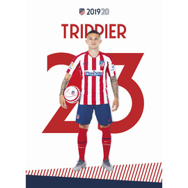 POSTAL ATLETICO DE MADRID 2019/2020 TRIPPIER