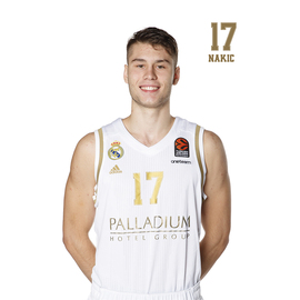 POSTAL REAL MADRID BALONCESTO 2019/2020 NAKIC