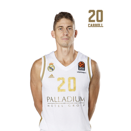 POSTAL REAL MADRID BALONCESTO 2019/2020 CARROLL