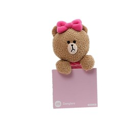 PELUCHE LINE FRIENDS CHOCO DANGLER 6