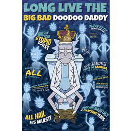 POSTER RICK & MORTY DOODOO DADDY